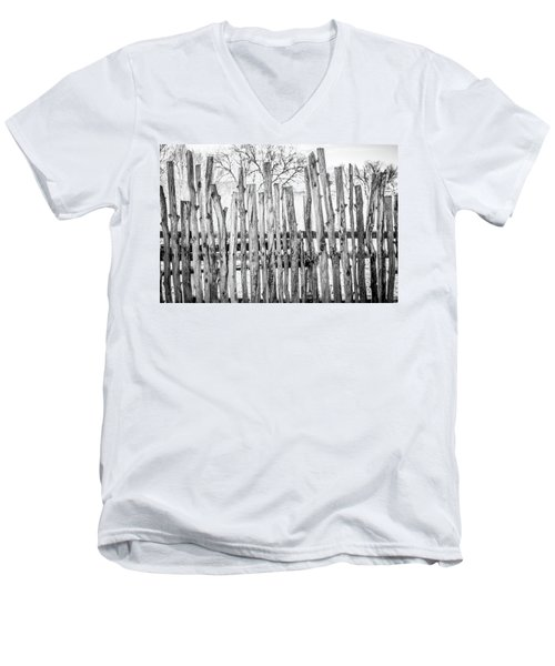 Men's V-Neck T-Shirt featuring the photograph Made From Nature by Marilyn Hunt