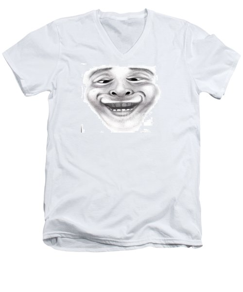 Magic Face Men's V-Neck T-Shirt