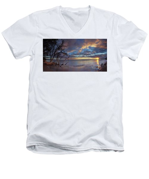 Magic Moments Men's V-Neck T-Shirt by James Roemmling