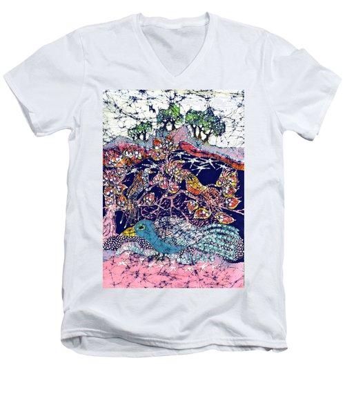 Magical Birds Men's V-Neck T-Shirt