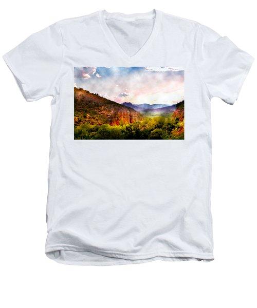 Magical Sedona Men's V-Neck T-Shirt