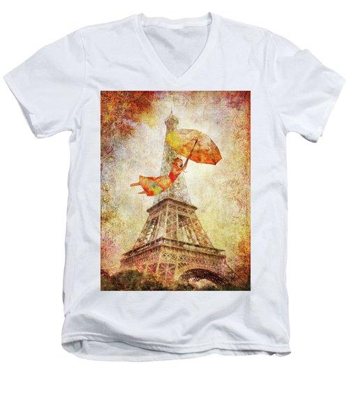 Magically Paris Men's V-Neck T-Shirt