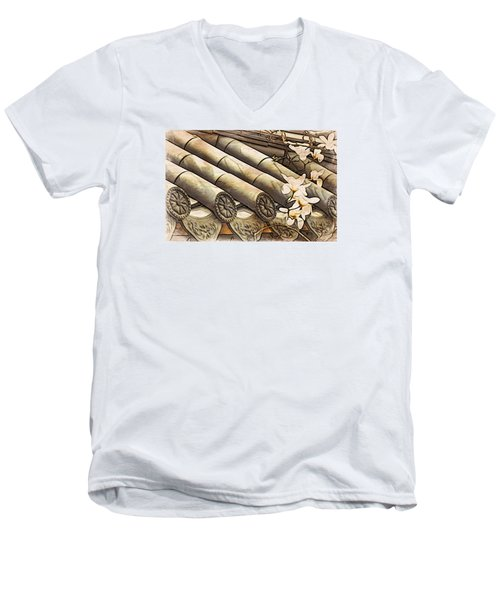 Magnolia Tiles Men's V-Neck T-Shirt