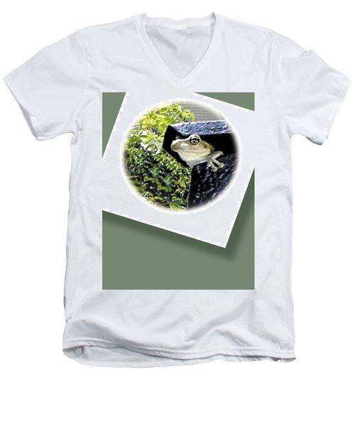Mailbox  Cameo Men's V-Neck T-Shirt