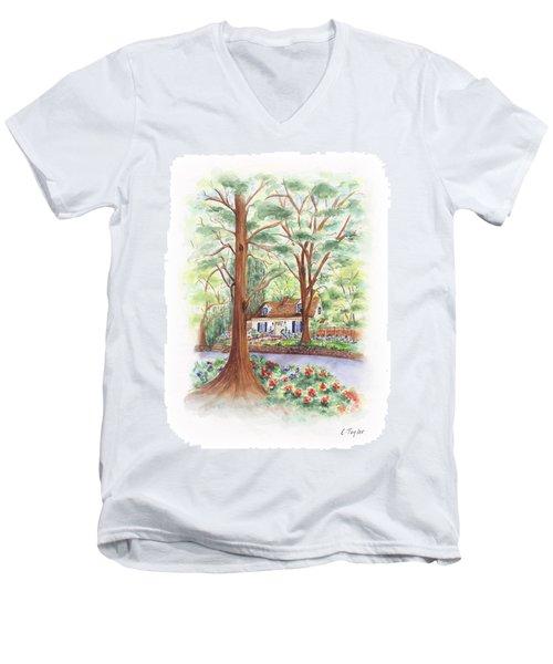 Main Street Charmer Men's V-Neck T-Shirt