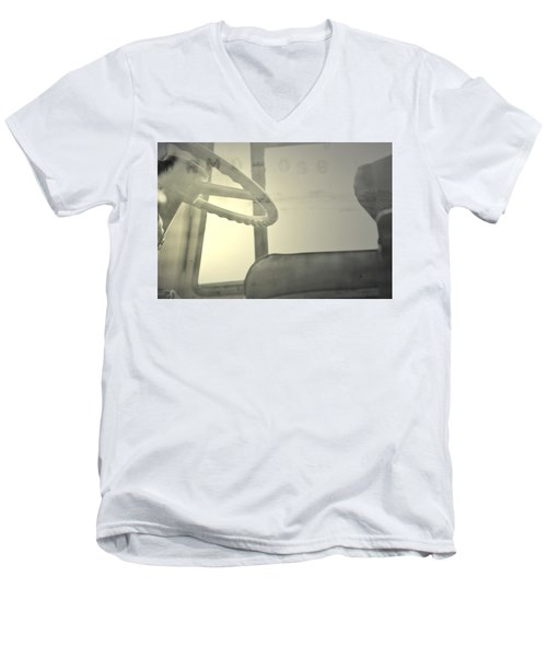 Men's V-Neck T-Shirt featuring the photograph Maintenance  by Mark Ross