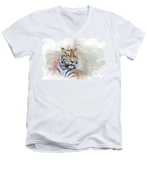 Majestic Men's V-Neck T-Shirt