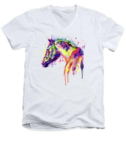 Majestic Horse Men's V-Neck T-Shirt