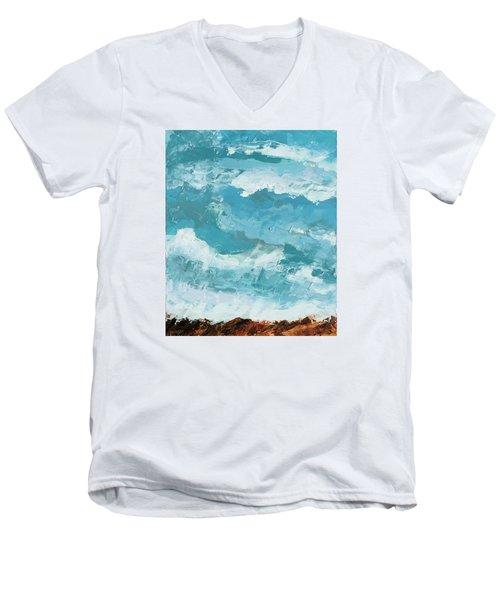 Majestic Men's V-Neck T-Shirt by Nathan Rhoads