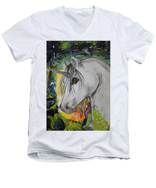 Majik Men's V-Neck T-Shirt