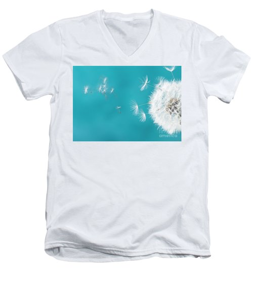 Make A Wish II Men's V-Neck T-Shirt by Anastasy Yarmolovich
