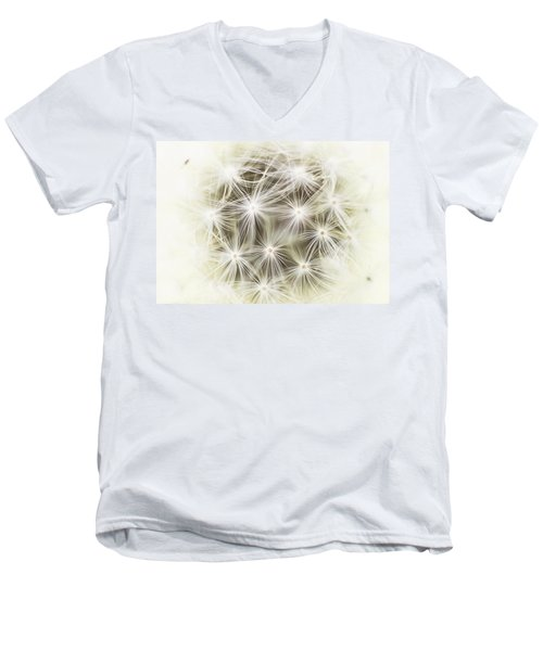 Make A Wish Men's V-Neck T-Shirt by Marlo Horne
