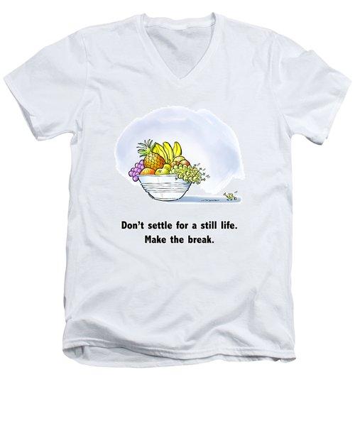 Make The Break Men's V-Neck T-Shirt