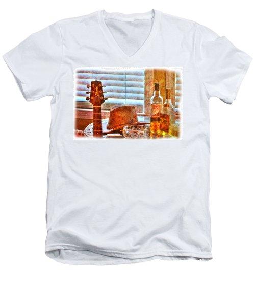 Making Music 002 Men's V-Neck T-Shirt