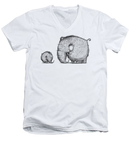 Mammothz Men's V-Neck T-Shirt