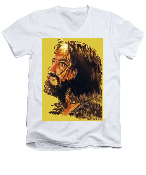 Man Of Sorrows Men's V-Neck T-Shirt