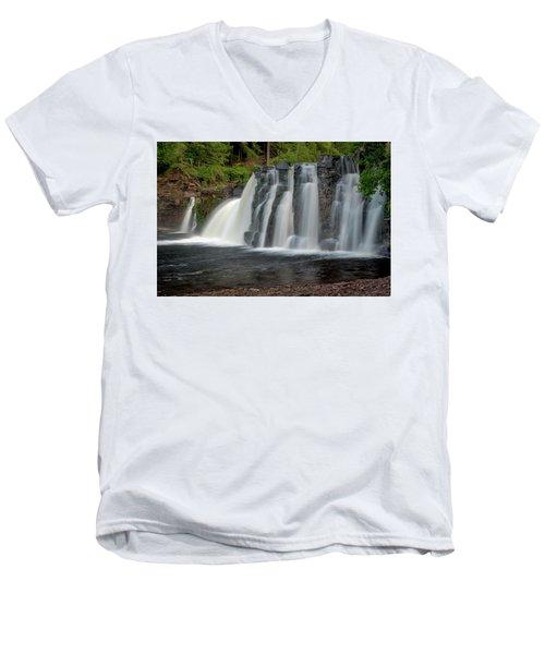 Manabezho Falls Men's V-Neck T-Shirt