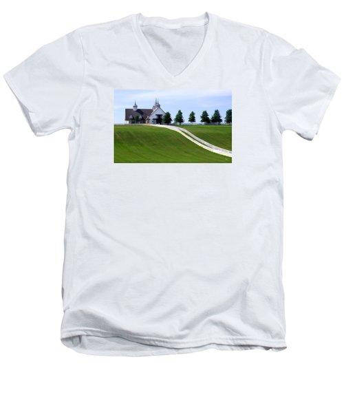 Manchester Farm Men's V-Neck T-Shirt