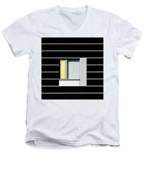 Manchester Windows 1 Men's V-Neck T-Shirt
