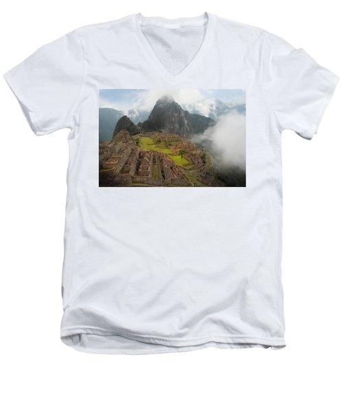 Manchu Picchu Men's V-Neck T-Shirt
