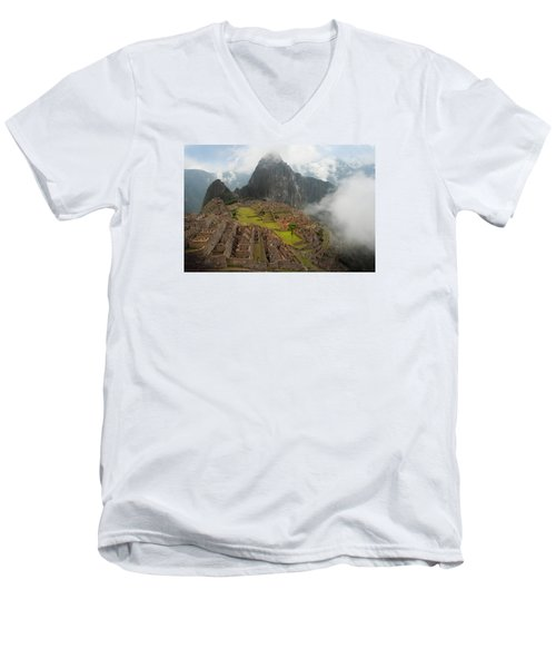 Manchu Picchu Men's V-Neck T-Shirt