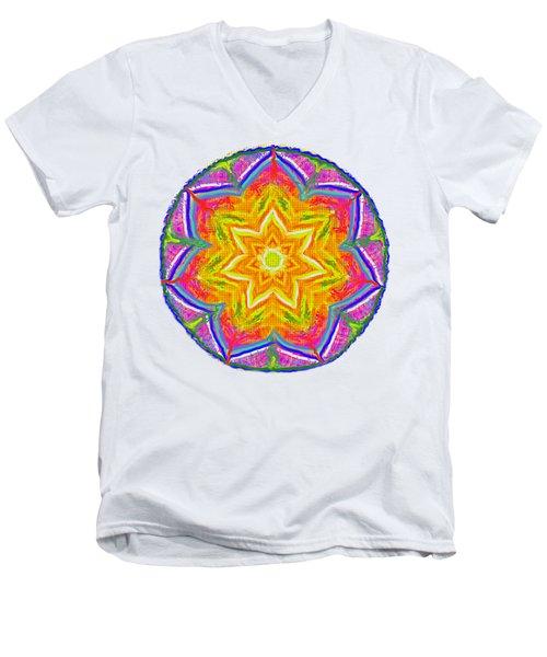 Mandala 12 20 2015 Men's V-Neck T-Shirt