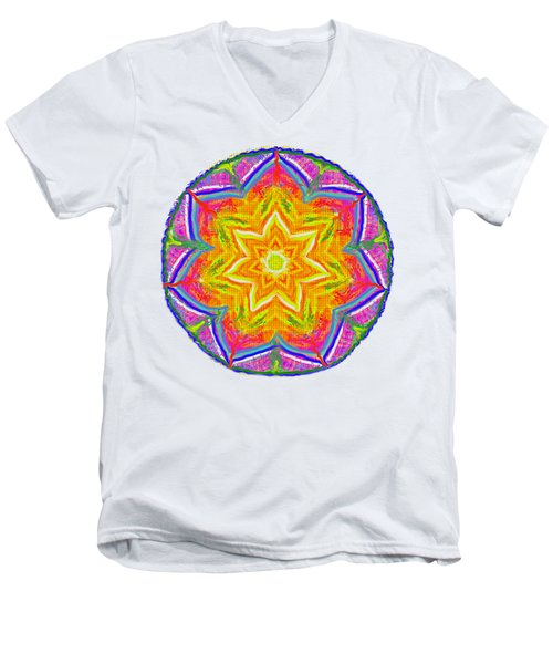 Mandala 12 20 2015 Men's V-Neck T-Shirt