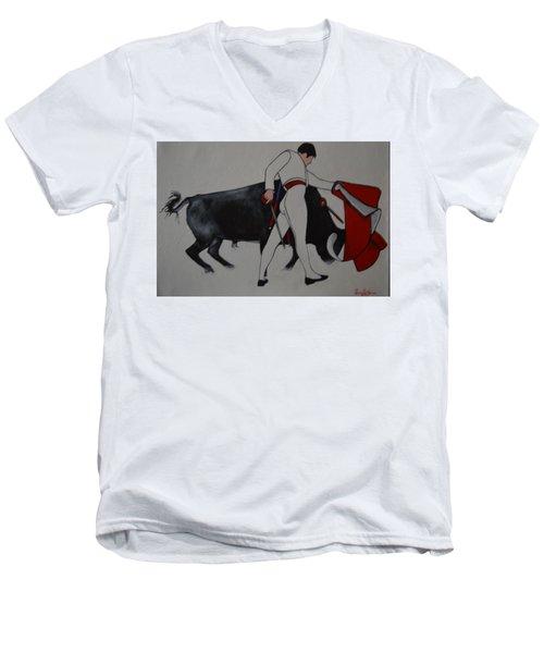 Manolete 1 Men's V-Neck T-Shirt