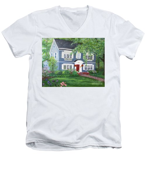 Maplewood Colonial Men's V-Neck T-Shirt