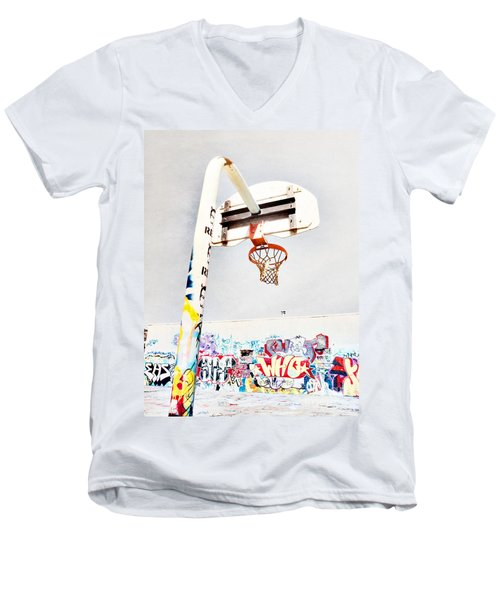 March 23 2010 Men's V-Neck T-Shirt by Tara Turner