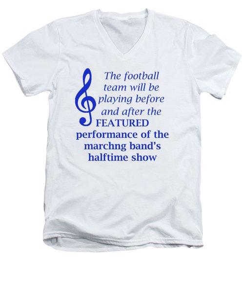 Marching Performance Men's V-Neck T-Shirt