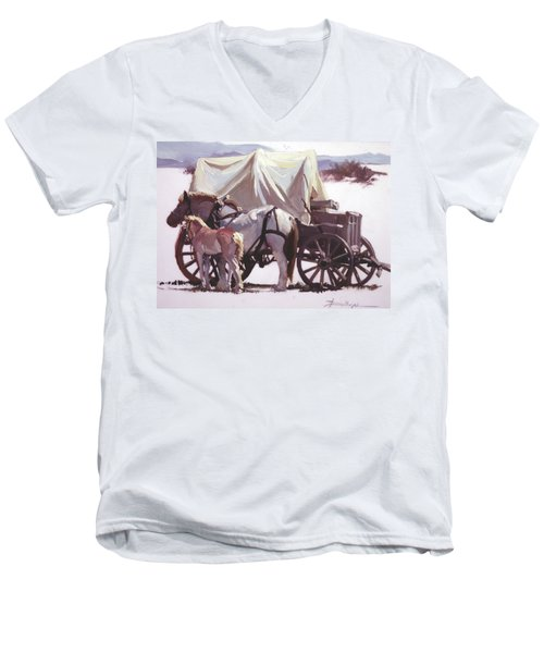 Mare's Pride Men's V-Neck T-Shirt