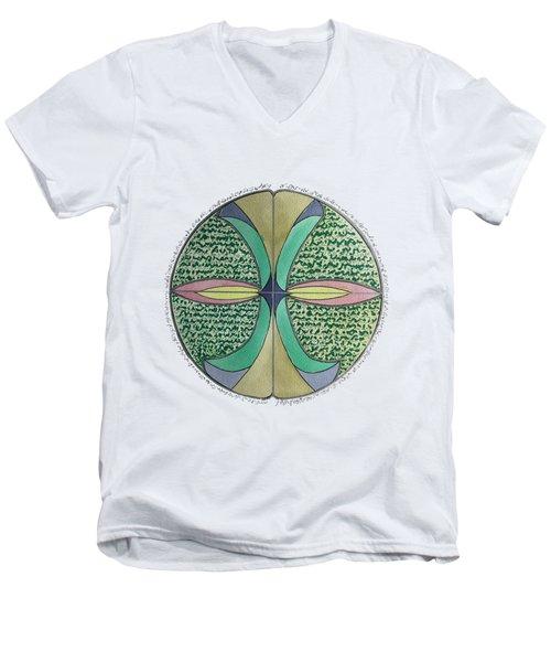Margret Soul Portrait Men's V-Neck T-Shirt