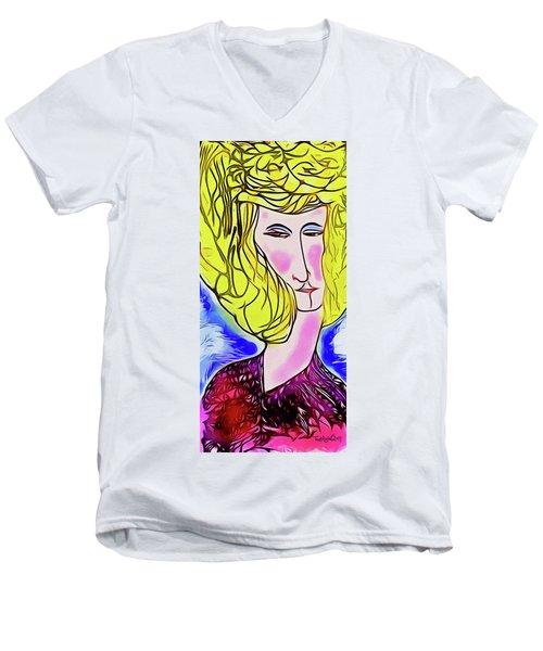 Maria Men's V-Neck T-Shirt