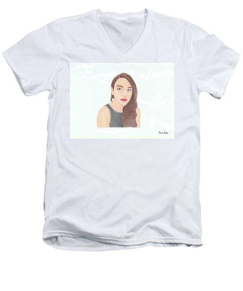 Mariand Castrejon - Yuya Men's V-Neck T-Shirt
