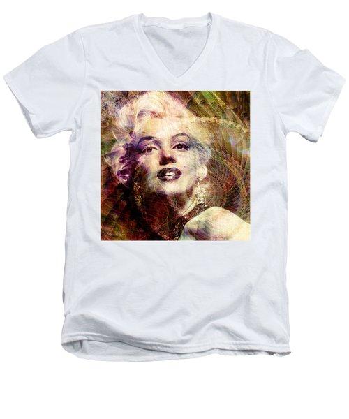 Marilyn Men's V-Neck T-Shirt