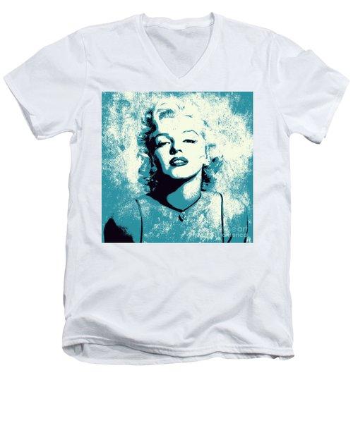 Marilyn Monroe - 201 Men's V-Neck T-Shirt