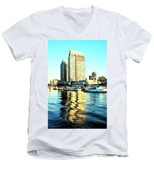 Marina Reflections Men's V-Neck T-Shirt