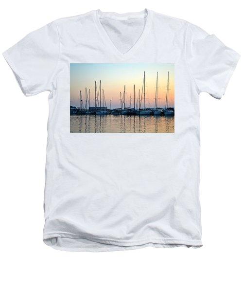 Marine Reflections Men's V-Neck T-Shirt