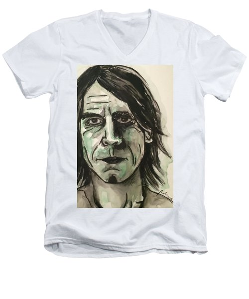 Mark Arm Mudhoney Men's V-Neck T-Shirt