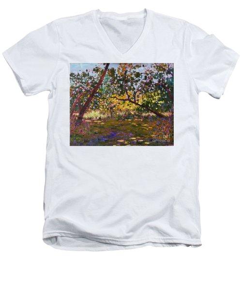 Marsh Land Men's V-Neck T-Shirt