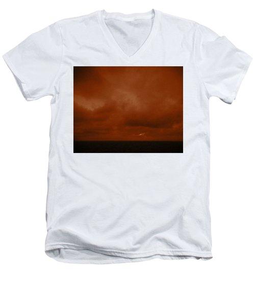 Marshall Islands Area Men's V-Neck T-Shirt