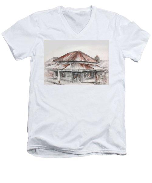 Marsh's Corner Store Men's V-Neck T-Shirt