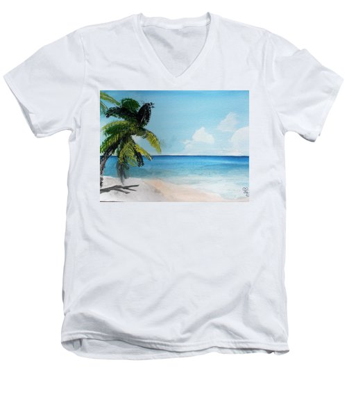 Martinique Men's V-Neck T-Shirt