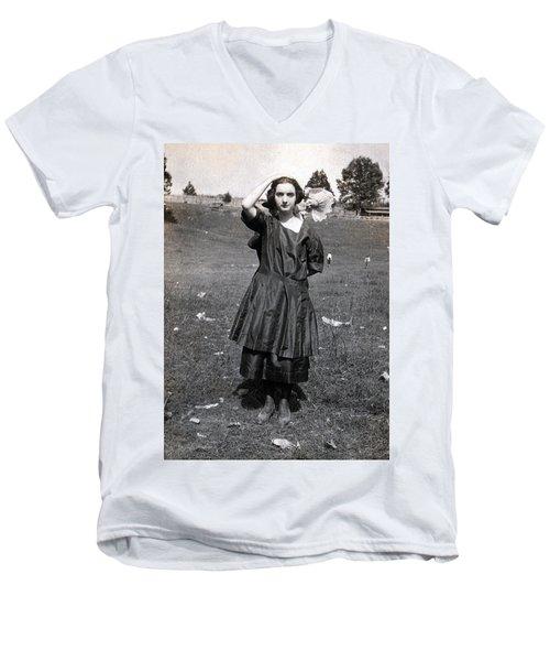 Mary Neal 01 Men's V-Neck T-Shirt