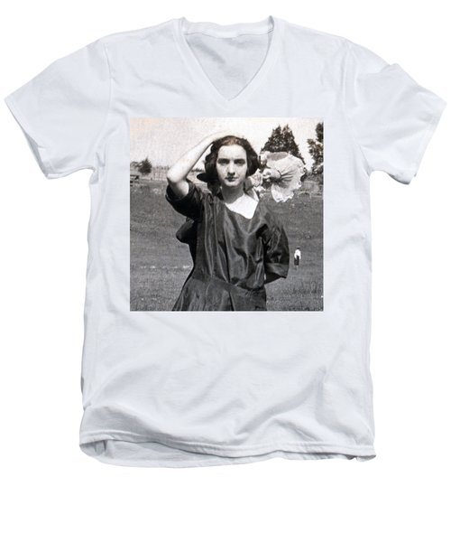 Mary Neal 02 Men's V-Neck T-Shirt