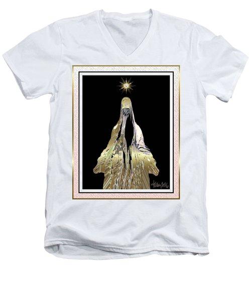 Mary Wept Men's V-Neck T-Shirt