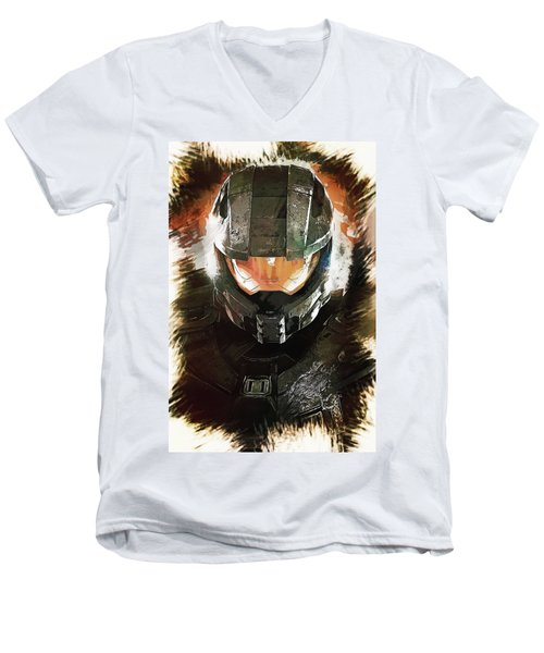 Master Chief Men's V-Neck T-Shirt