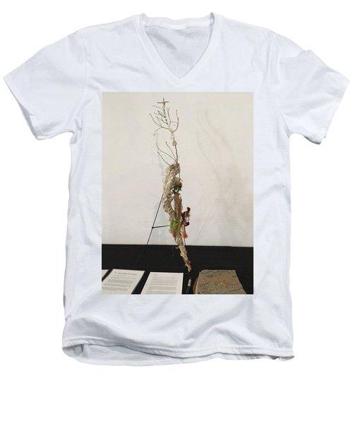 Matthew Twenty Six, Fifty Seven - Sixty Eight Men's V-Neck T-Shirt