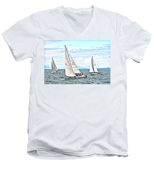 Maui Bound Men's V-Neck T-Shirt